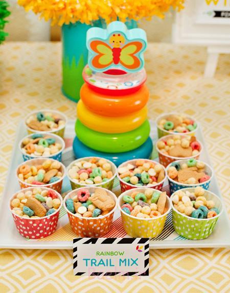 تزیین خوراکی های جشن تولد, تزیین کیک های جشن تولد