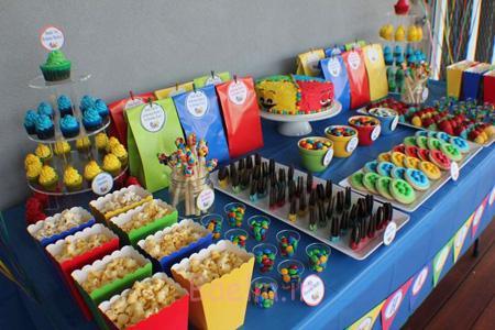 تزیین میوه جشن تولد,تزیین خوراکی های جشن تولد