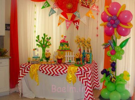 تزیینات جشن تولد,ایده هایی برای جشن تولد