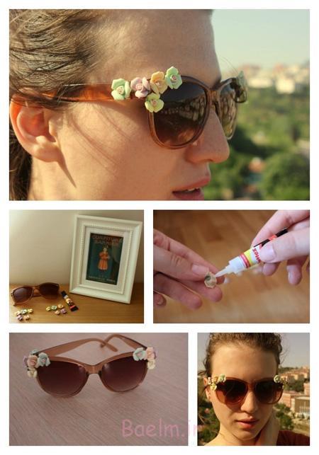 طرحدار کردن عینک آفتابی, تزیین کردن عینک آفتابی