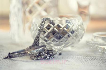 نکاتی برای نگهداری از جواهرات,نحوه نگهداری از جواهرات