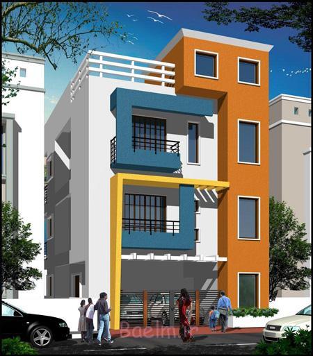 نمونه طراحی نمای ساختمان مسکونی,نمای ساختمان مسکونی,طراحی نمای ساختمان مسکونی