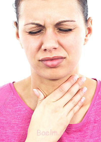 التهاب زبان, بیماری التهاب زبان,گلودرد