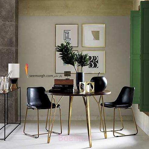 میز و صندلی ناهارخوری برای آپارتمان های کوچک - مدل شماره 3