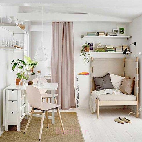 میز و صندلی ناهارخوری برای آپارتمان های کوچک - مدل شماره 5
