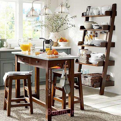 میز و صندلی ناهارخوری برای آپارتمان های کوچک - مدل شماره 6