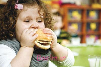 علل چاقی کودک,راههای درمان چاقی کودک
