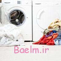 چگونه از ماشین لباسشویی استفاده کنیم