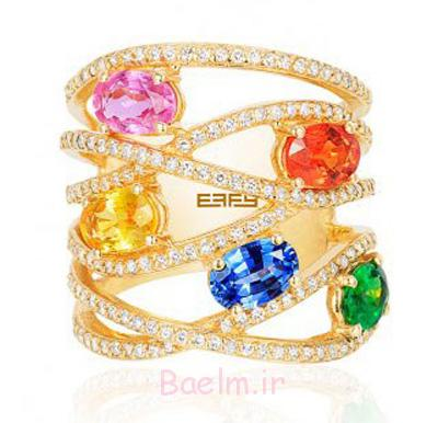 جواهرات رنگارنگ effy jewelry, لوکس ترین جواهرات برند effy jewelry