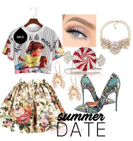 ست لباس رنگی, ست تابستانی لباس رنگی