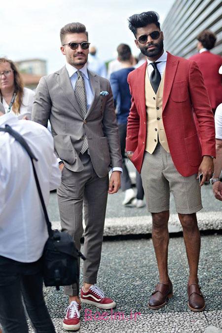 طراحی لباس مردانه در هفته مد ایتالیا, مدهای خیابانی در هفته مد ایتالیا