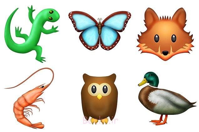 Yeni emojiler arasında, hayvan dostlarımız da var.