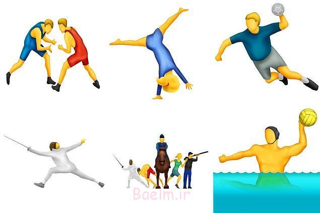 Yeni spor temalı emojiler de geldi!