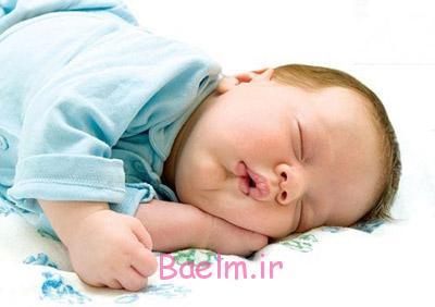 خوابیدن نوزاد,میزان نیاز نوزاد به خواب,خواب نوزاد