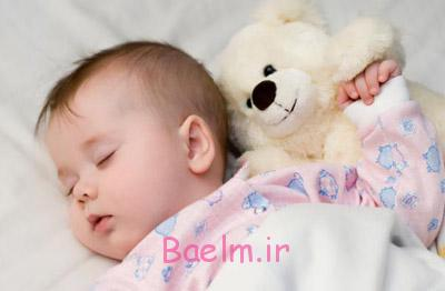 تخت خواب نوزاد,الگوی خواب نوزاد,خواب نوزاد