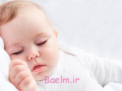 خواب نوزاد,میزان خواب نوزاد,تنظیم خواب نوزاد