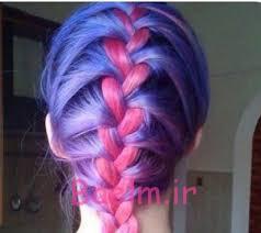 رنگ موی فانتزی برای تابستان 2016 - رنگ مو شماره 12
