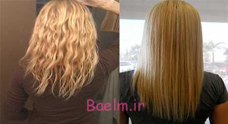 روش استفاده از کراتین مو