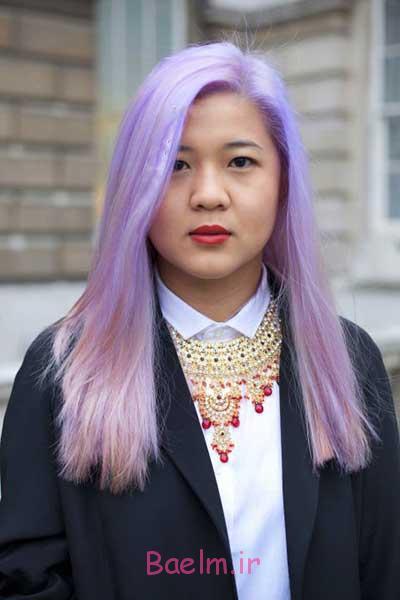 انواع مدل رنگ مو