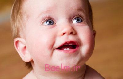 عندان در آوردن نوزاد,دندان در آوردن کودک