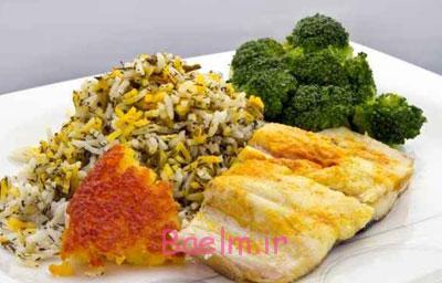 پخت بریانی ماهی,طرز تهیه سبزی پلو ماهی هندی