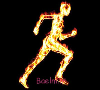 افزایش سوخت و ساز بدن, سوزاندن کالری