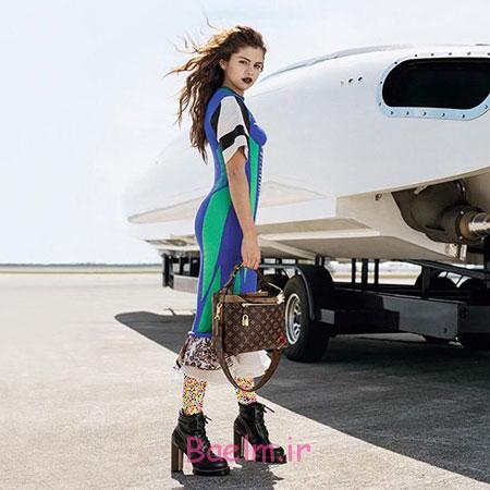 مدل برند لویی ویتون,سلنا گومز مدل برند لویی ویتون