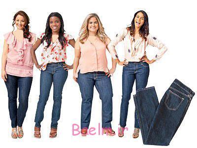 اصول انتخاب شلوار جین,نکاتی برای انتخاب شلوار جین برای خانم های میانسال