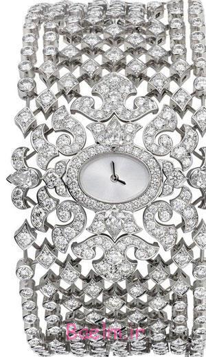ساعت مچی های جواهر, شیک ترین و زیباترین مدل ساعت