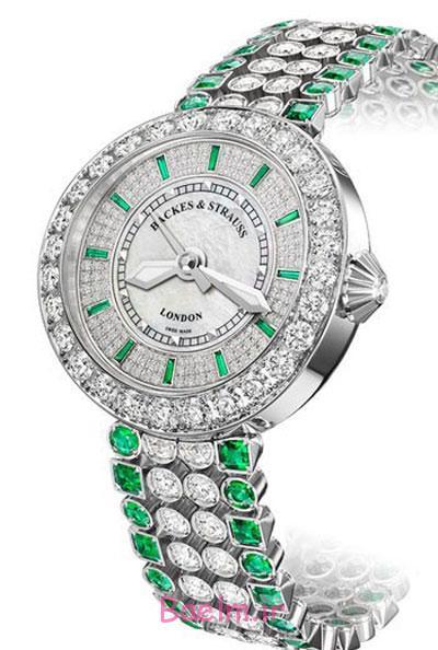 زیباترین مدل ساعت مچی,ساعت مچی های جواهر