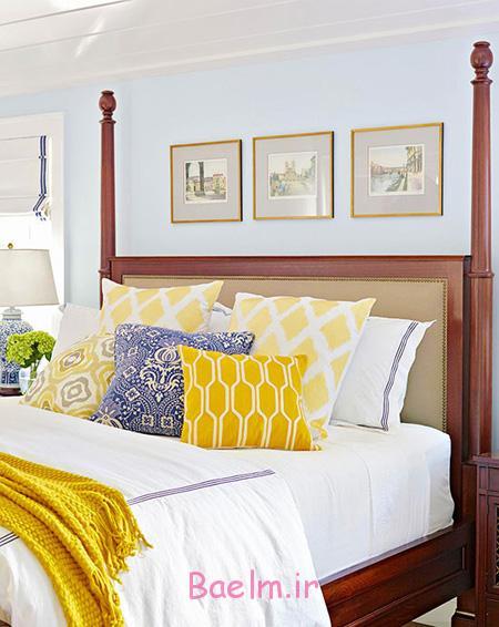 بهترین رنگ برای دکوراسیون اتاق خواب,دکوراسیون و چیدمان اتاق خواب