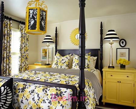 ترکیب رنگ های تابستانی اتاق خواب,بهترین ترکیب ها برای یک اتاق خواب تابستانی