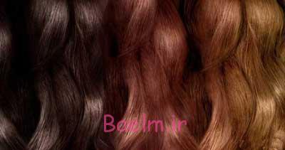 رنگ موی شیمیایی
