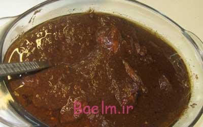 درست کردن خورش فسنجان با به,مواد لازم برای تهیه خورش فسنجان با به