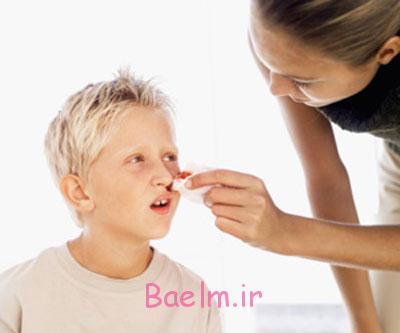دلیل خونریزی بینی , درمان خونریزی بینی