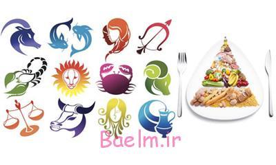رژیم و ماه تولد , رژیم غذایی ماه تولد