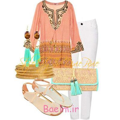 اصول و نحوه پوشش در تابستان,ست کردن لباس تابستانی
