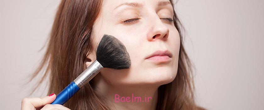 چگونه با آرایش جوشهای صورتمان را پنهان کنیم؟