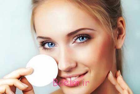 پاک کردن آرایش از صورت
