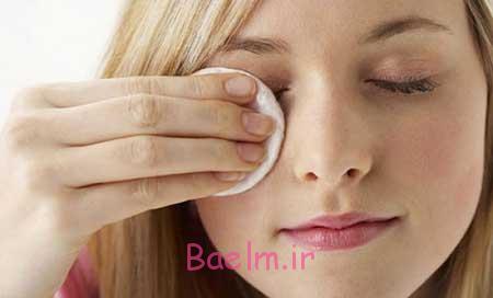 پاک کردن آرایش