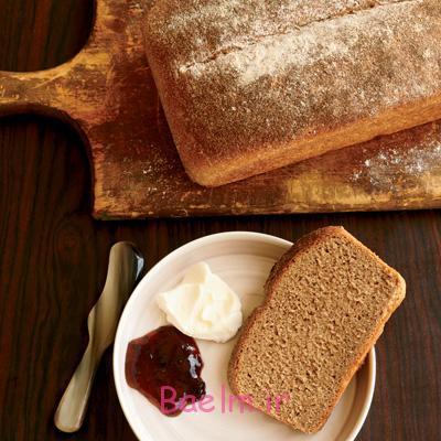 پخت نان بروتچن عسلی,طرز تهیه نان برای مدرسه ای ها