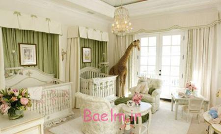بهترین رنگ اتاق نوزاد,دکوراسیون اتاق نوزاد