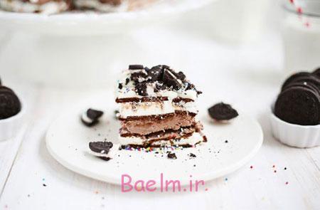 طرز تهیه کیک بستنی, درست کردن آسان ترین کیک بستنی