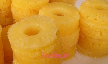 درست کردن کمپوت آناناس,پخت کمپوت آناناس