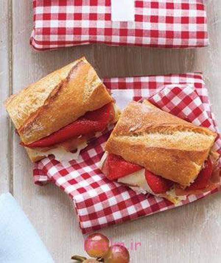 ساندویچ های مناسب مدرسه ای ها,طرز تهیه تغذیه های مناسب مدرسه ای ها