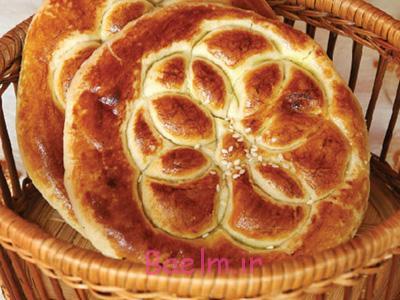 طرز تهیه نان مغزدار, نحوه پخت نان مغزدار