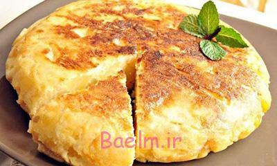 درست کردن نان پنیر و سیب زمینی,طرز پخت نان پنیر و سیب زمینی