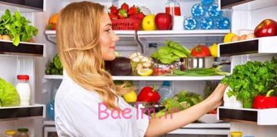 طرز نگهداری از مواد غذایی,نکاتی برای نگهداری از موادغذایی