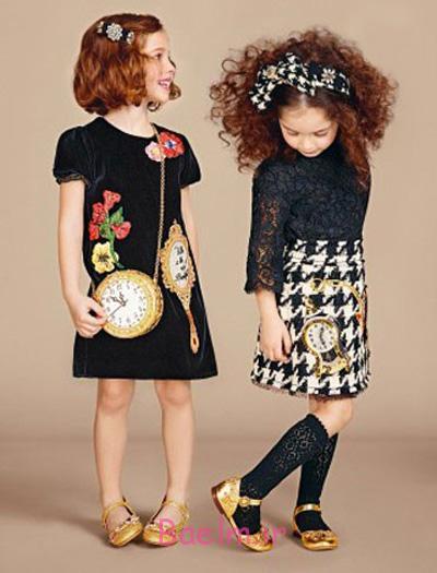 لباس دخترانه برند دولچه گابانا, لباس پاییزی دخترانه