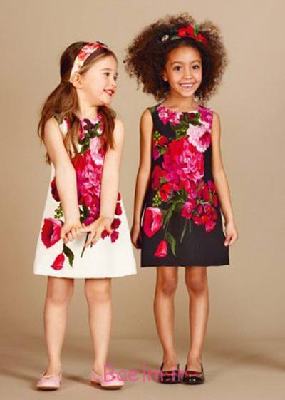 مدل لباس پاییزی دخترانه برند دولچه گابانا, جدیدترین لباس های پاییزی دخترانه